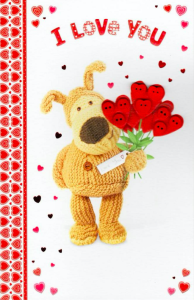 Cute cards featuring Boofle sold well for Dragonfly Cards and Gifts