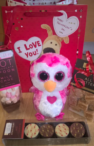 A selection of Valentine's Day gifts from Dragonfly Cards and Gifts.