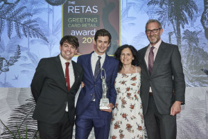 Postmark won both retail initiative and the top greeting card retailer of the year award at the 2017 Retas.