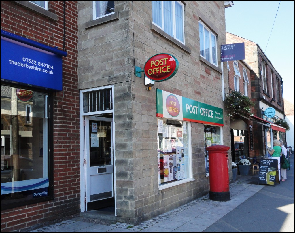 Post offices offer banking services – spread the word!