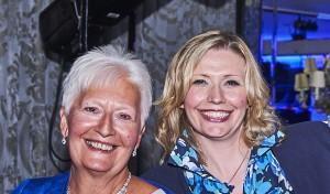 Rita Knibbs (left) and Rachael Barnes.