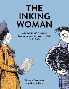 The front cover of the Inking Women book, which launches on March 29.