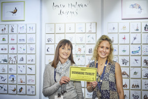 As well as being very happy about Mother's Day, Barkers' Sarah Lishman (left) was all smiles with Louise Melgrew at last year's PG Live too!