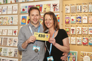 As card publishers too, Heidi and Dominic Early, co-owners of Earlybird can gauge Mother's Day trade from two angles.