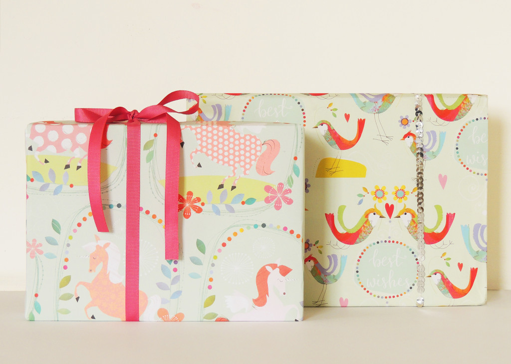 Lovely new giftwrap from Kali Stileman.
