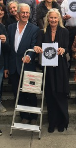Scribbler co-founders John and Jennie Procter at last year's Ladder Club event.