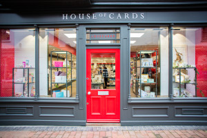 The Wallingford House of Cards flagship store .