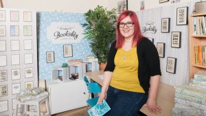 Louise Verity of Bookishly, co-founder of Naked Cards.