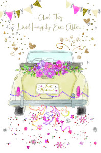 One of the new cards in Cherry Orchard's wedding collection.