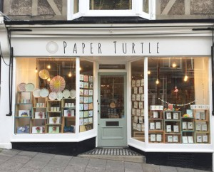 Paper Turtle benefits from a high footfall from tourists who come out when the weather is good.