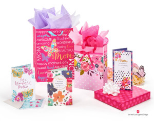 A selection of Mother's Day products from American Greetings.