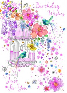 A pretty Carnival design from Cherry Orchard
