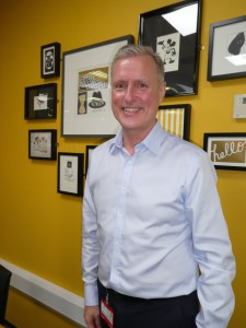 James Conn, ceo of UKG is enjoying the challenges of sitting in the 'big chair'.