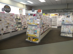The Card Room in Gee Tee's Westhoughton store.