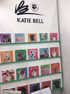 Katie Bell launched her new collection at the show.