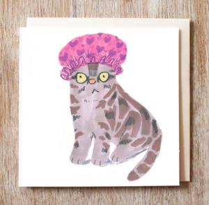 A Jo Clark Cat design.