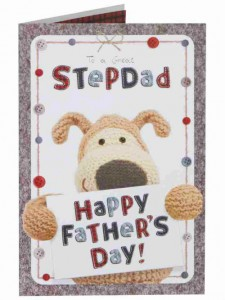 A Clintons' card for StepDad