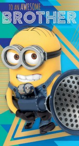 A new Despicable Me 3 card from Danilo
