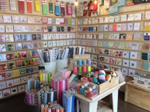 Who wouldn't be tempted with this display!? At one of my customer's - Paper Turtle in Lewes.