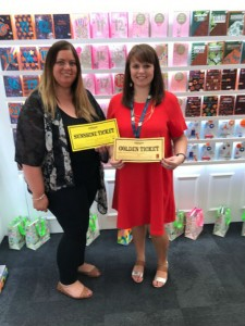 Jenni Taylor from Bentalls with Claire Williams from Paper Salad
