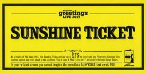 New this year, the Sunshine ticket is worth £75 for 2017 Retas finalists.