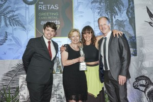 WHSmith won Best Non-Specialist Multiple Retailer of Greeting Cards
