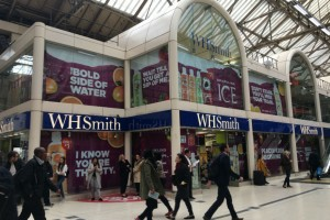 WHSmith Travel's flagship store in London's Victoria station