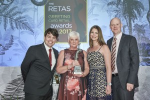 Wishes won Best Independent Greeting Card Retailer – North and Northern Ireland