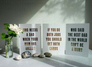 Happy Father's Day Mum cards