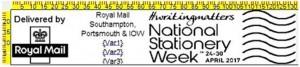 National Stationery Week postmark