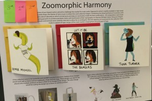 Zoomorphic Harmony, by Lucy Ryder Howard in third place.