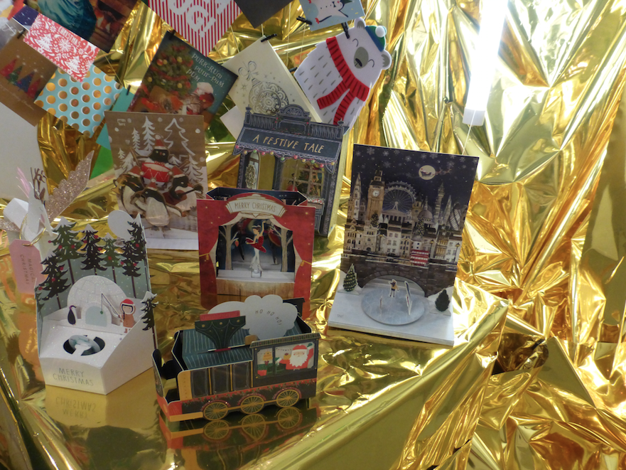 Innovative musical movement and intricate 3D engineering feature in Paperchase's Christmas cards line-up.