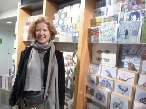 Westmorland's Sarah Dunning inside Tebay Services.