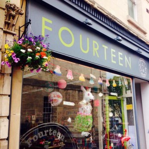 Above: Fourteen is full of great quirky products.