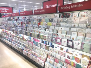 Above: Sainsbury's has massively revamped its greeting card offer over the last year.