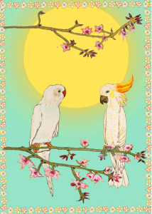 Above: An art card from Wildflower Cards.