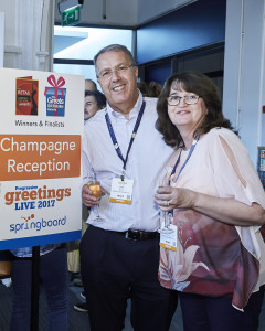 Tracey and Chris Bryant at the drinks reception at PG Live.