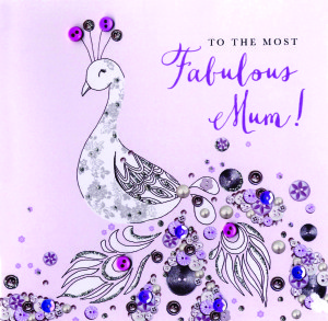 Above: With good dialogue, Mother's Day can be even more fabulous, like this Second Nature design.