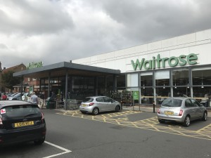 Waitrose is introducing new card displays into its stores.
