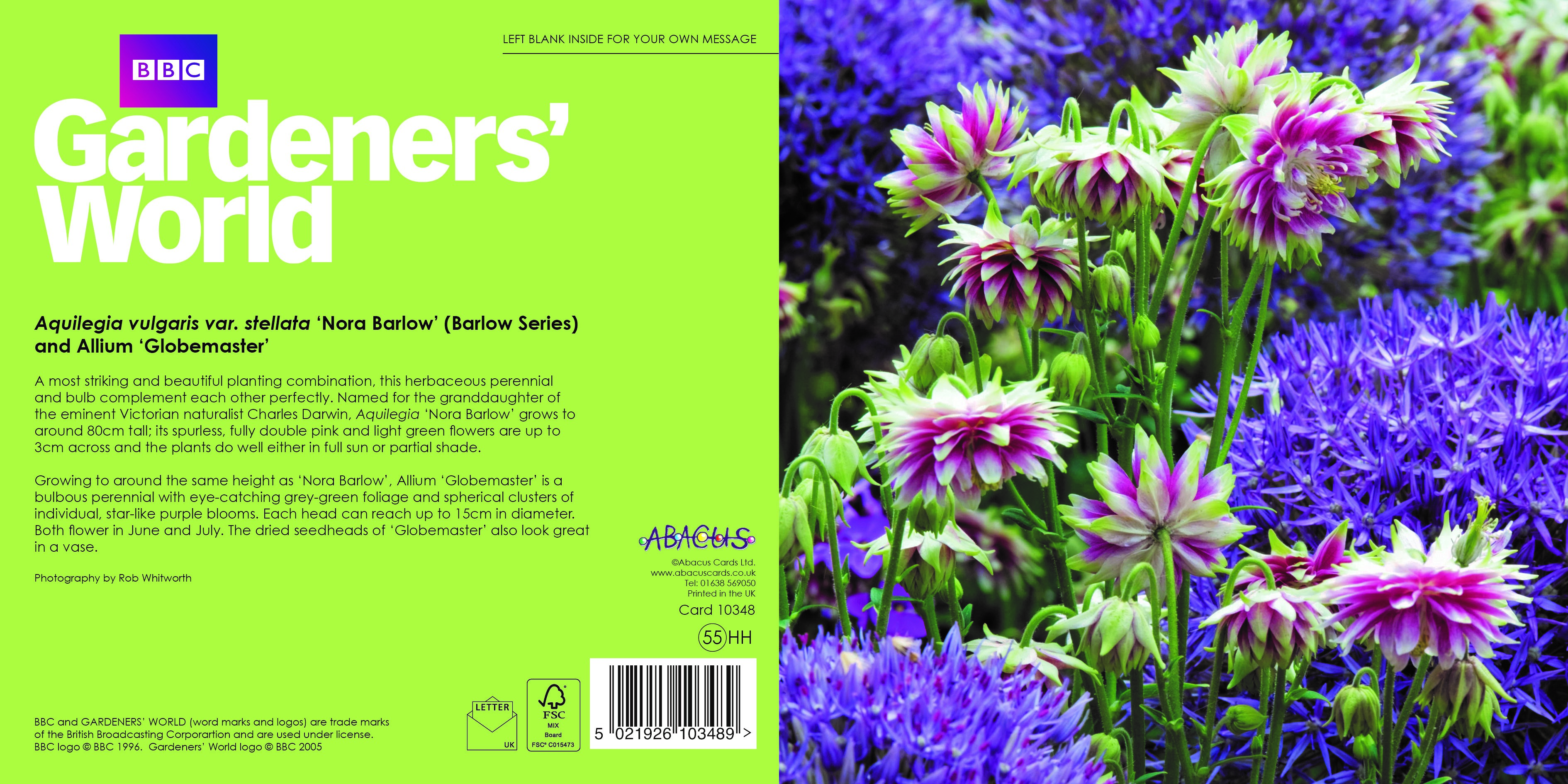 Abacus To Publish Bbc Gardeners World Greeting Cards Pg Buzz