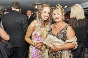 Tache Greetings' Pennie Bryant (left) caught up with PG's Jakki Brown at The Licensing Awards.