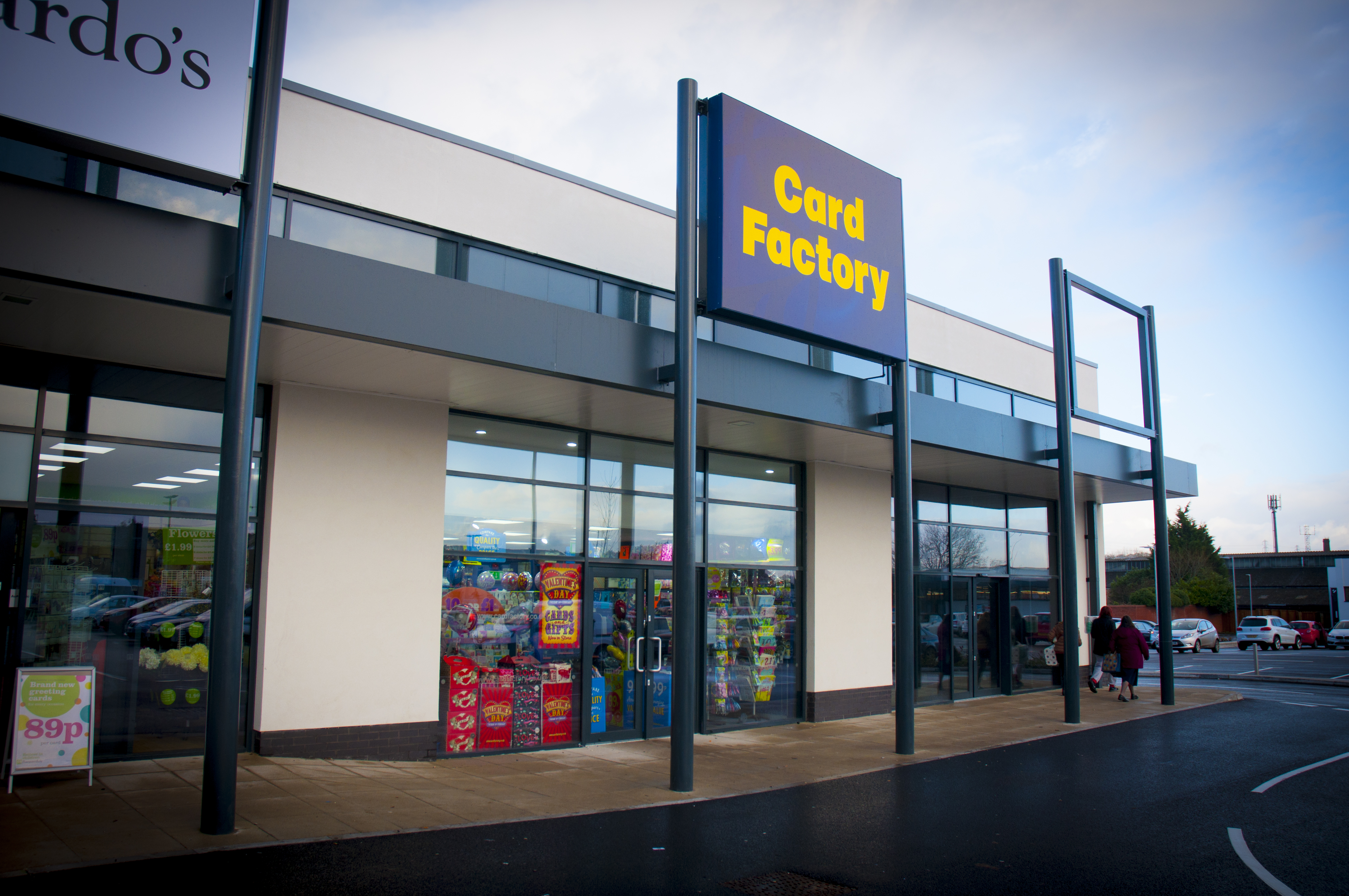 Card factory delivers sales growth but profits down pg buzz card factory looks set to open its 900th store in the next few days its negle Images