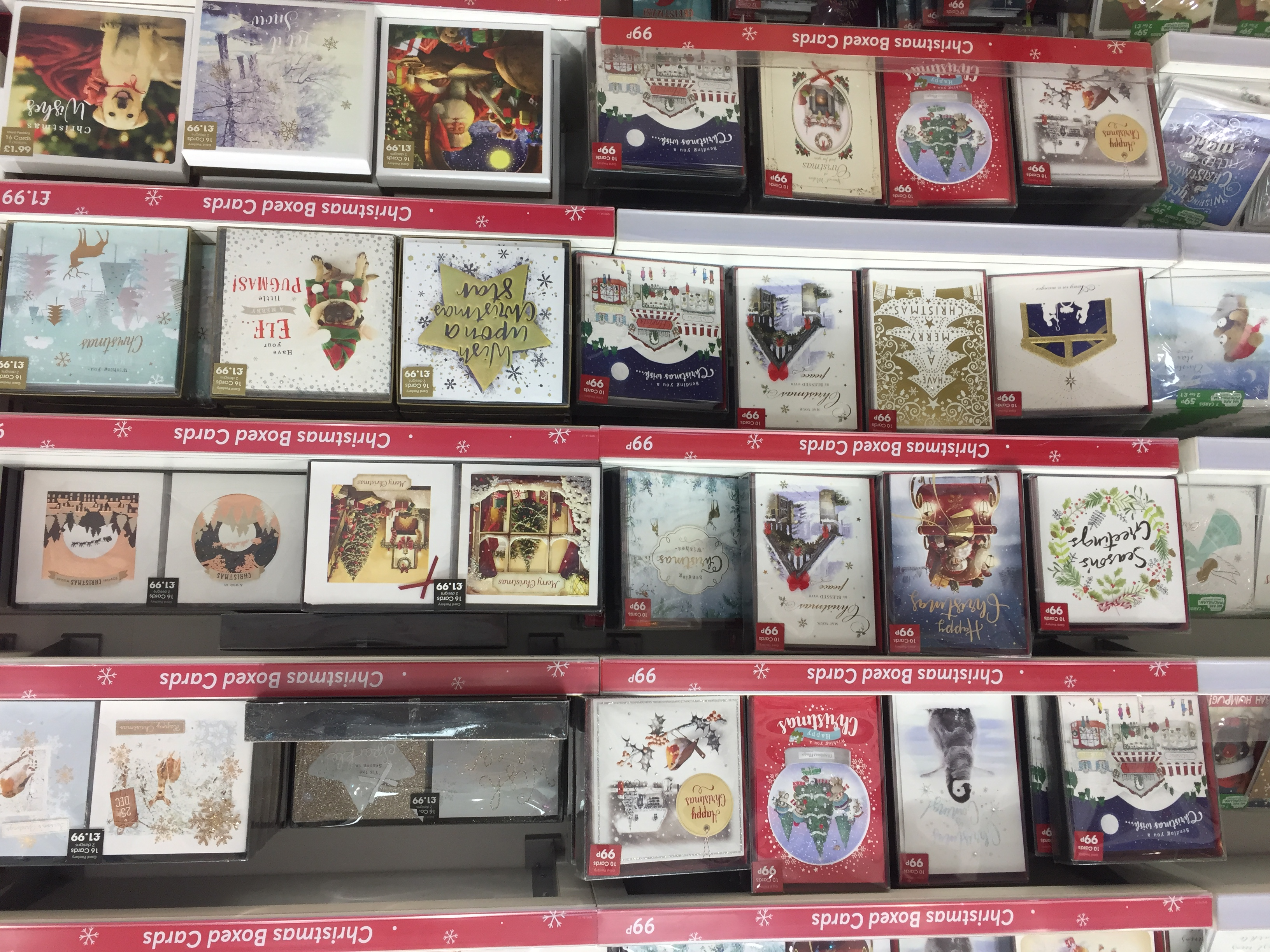 Card factory delivers sales growth but profits down pg buzz some of the christmas offer that is now on sale in card factory stores negle Images