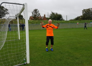 Windles won the football match (9-6), which PG's Warren Lomax says was partly down to his superb diving save!
