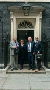 (Left-right) bira's Bob Jarrett, Fiona Cuthbertson (political advisor), Alan Hawkins and Vin Vara.