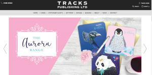 The new Tracks' site has been conceived to be product-focused.