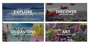 The new Tracks site also encourages retailers to search by card type.