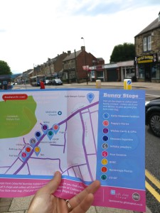 The Bunny Trail has attracted attention in Cudworth.
