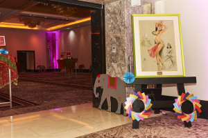 Slater Harrison used its papers to add extra touches to The Henries Bollywood reception last year.