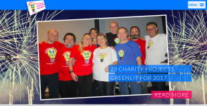 Some 23 charity projects are now underway as a result of The Light Fund's 2016 activities. Which charities will benefit from this year's fundraising?
